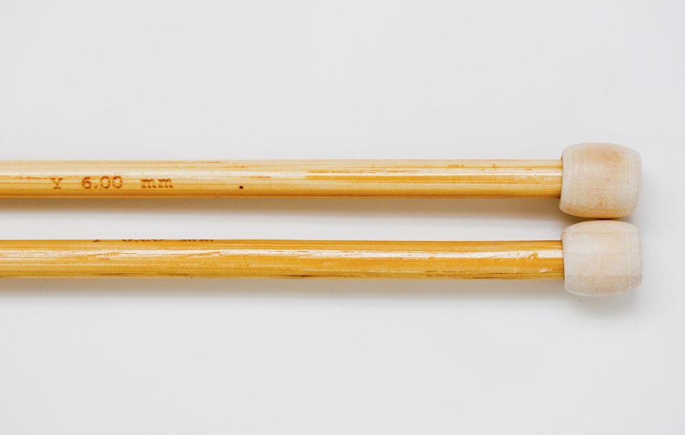 Knitting needles bamboo