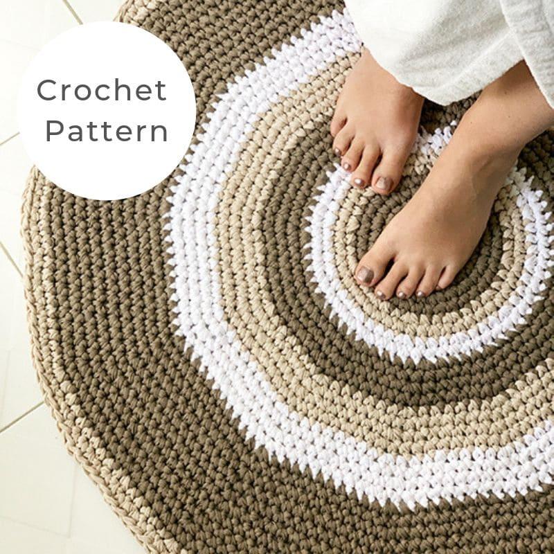 Circle rug pattern