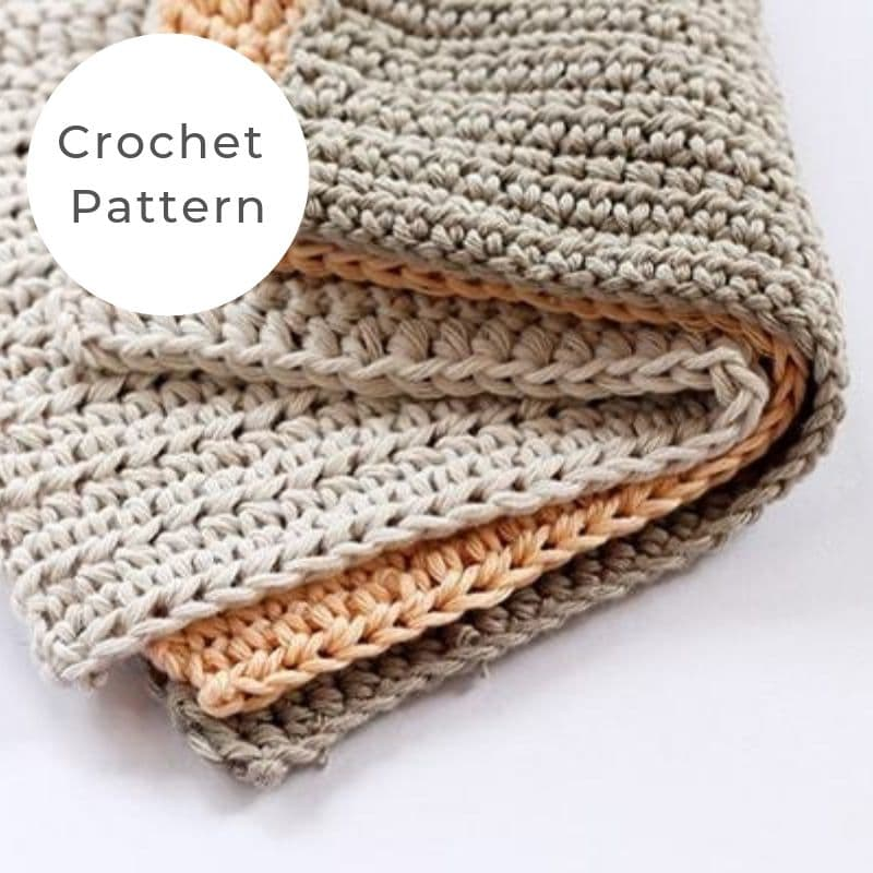 wash cloth crochet pattern
