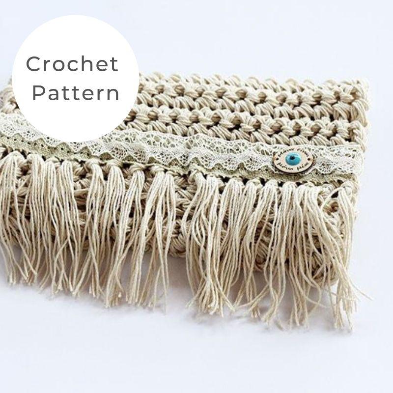 crochet fringe bag pattern