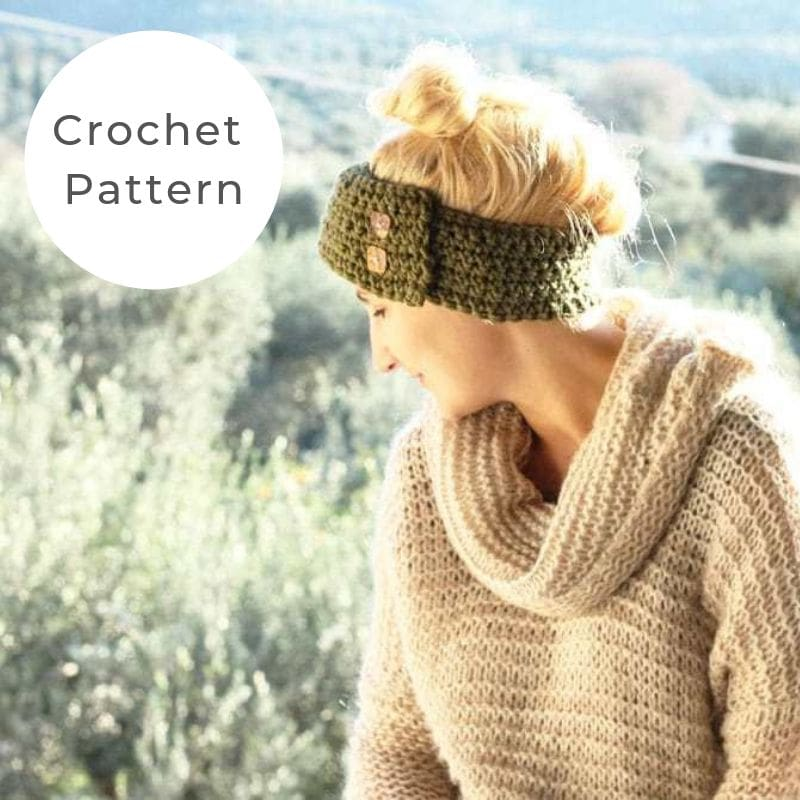 Crochet headband pattern