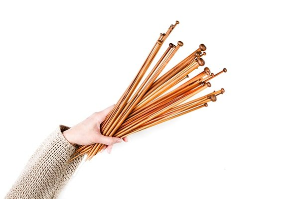 Knitting needles for beginners