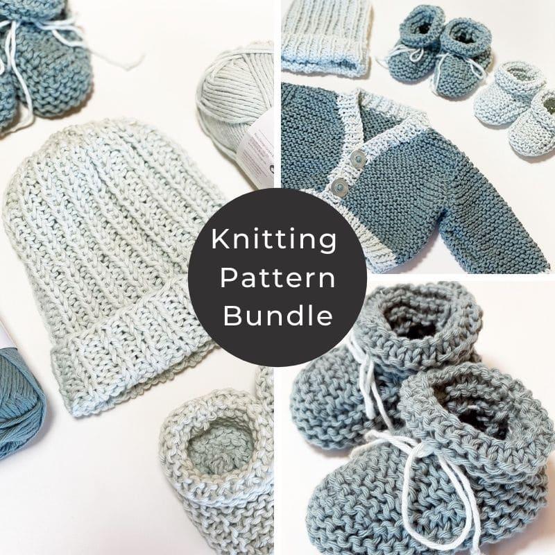 Knitting pattern bundle