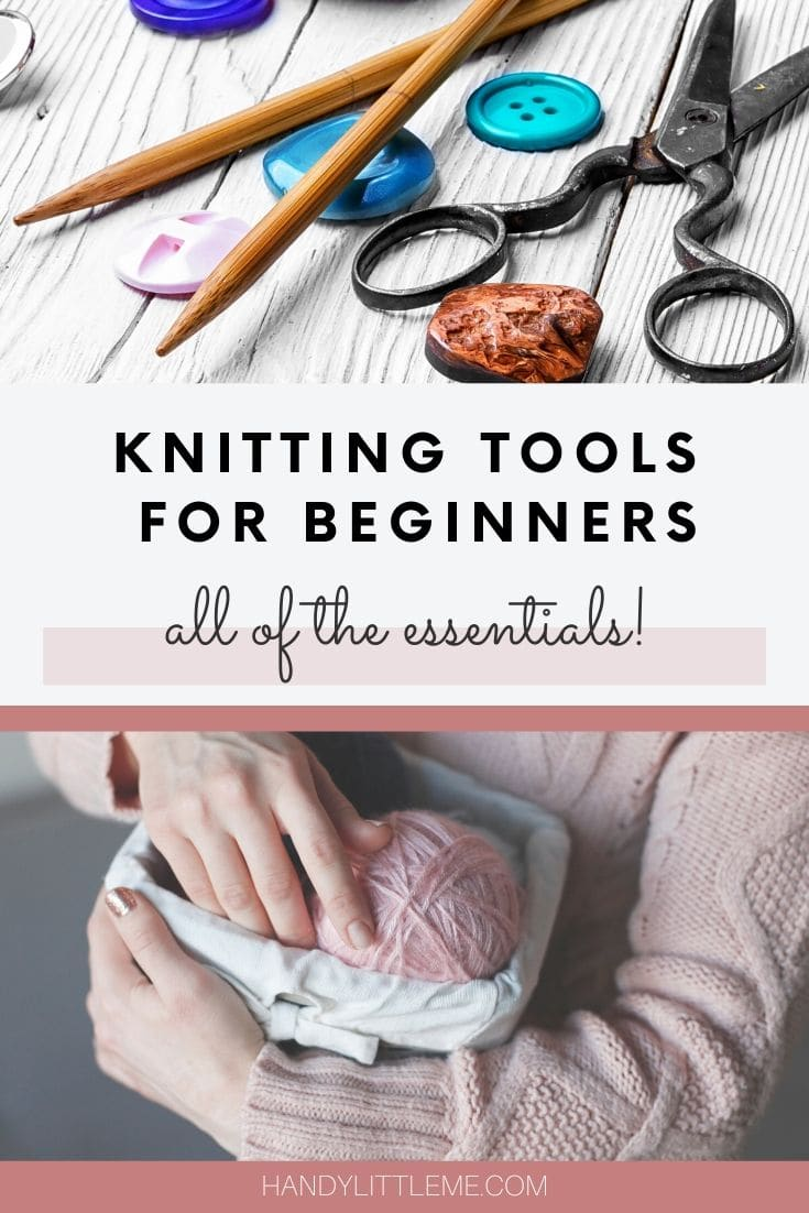 Knitting tools for beginners