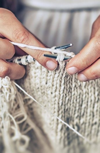 How To Knit Two Stitches Together {K2tog}