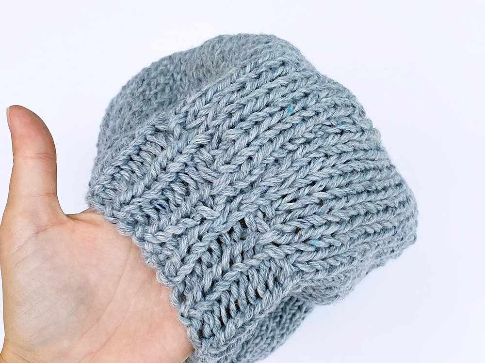beret seam outside