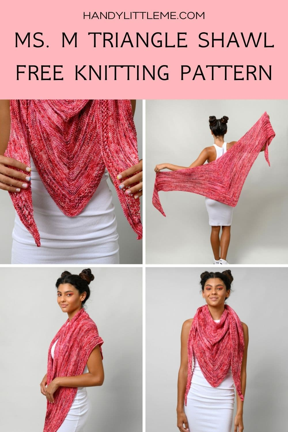MS M Knitted Shawl