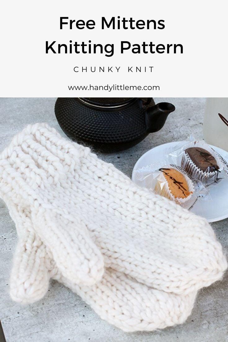 Mittens Knitting Pattern
