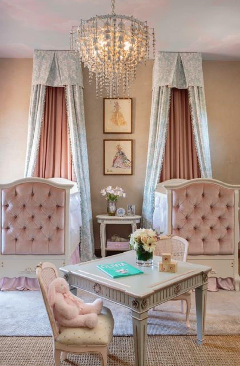 Modern luxe nursery
