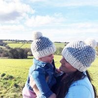 Mommy and me beanies pattern