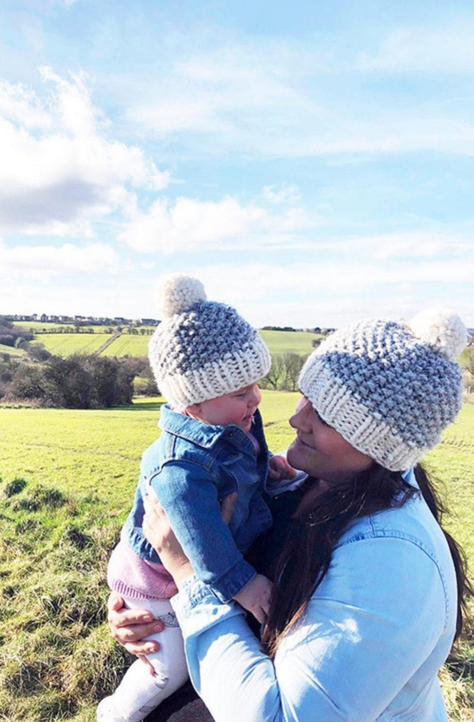 Mommy And Me Beanies