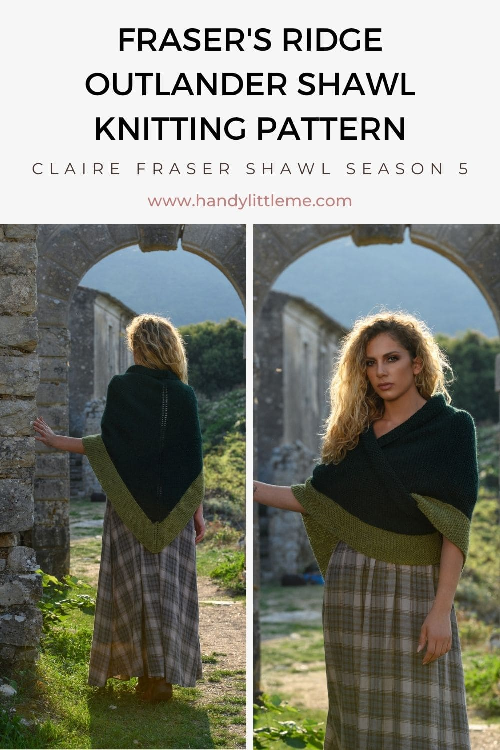 Outlander Claire Shawl pattern