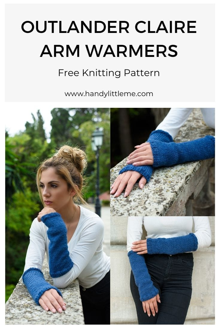 Outlander Claire arm warmers pattern