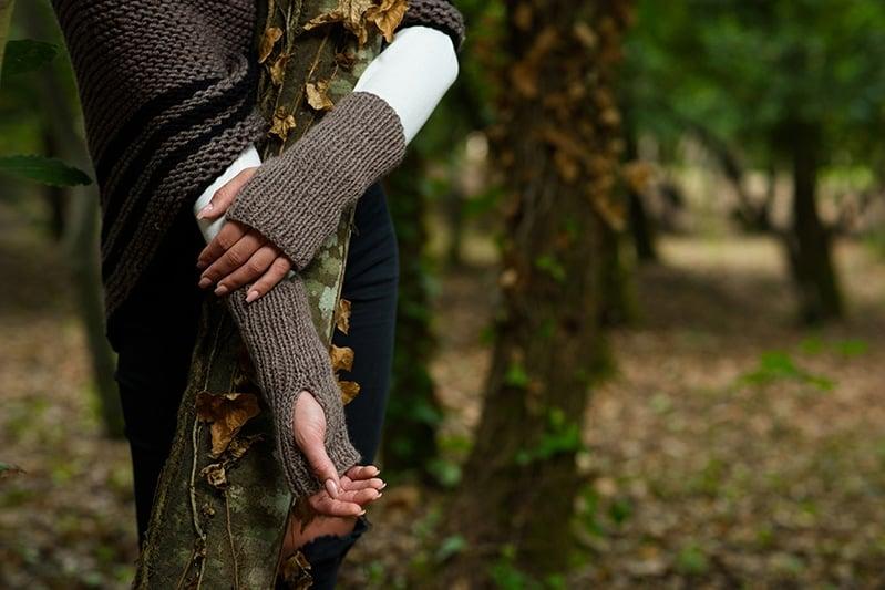 Outlander Claire Carolina fingerless gloves