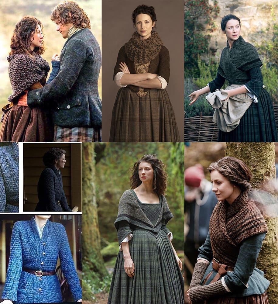 Prendas de punto Outlander Claire