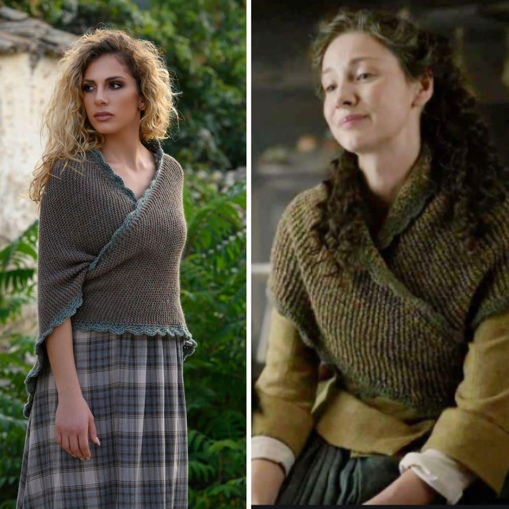 Outlander Journeycake shawl