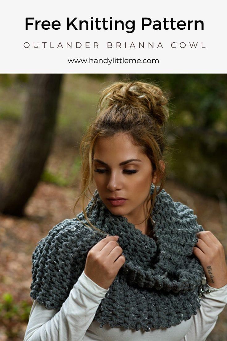 Outlander Brianna scarf knitting pattern