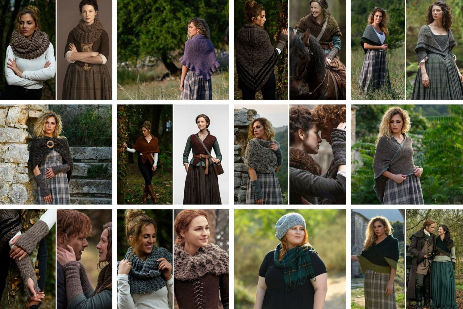 Outlander knitting patterns collection