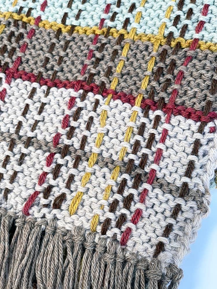 weaving plaid