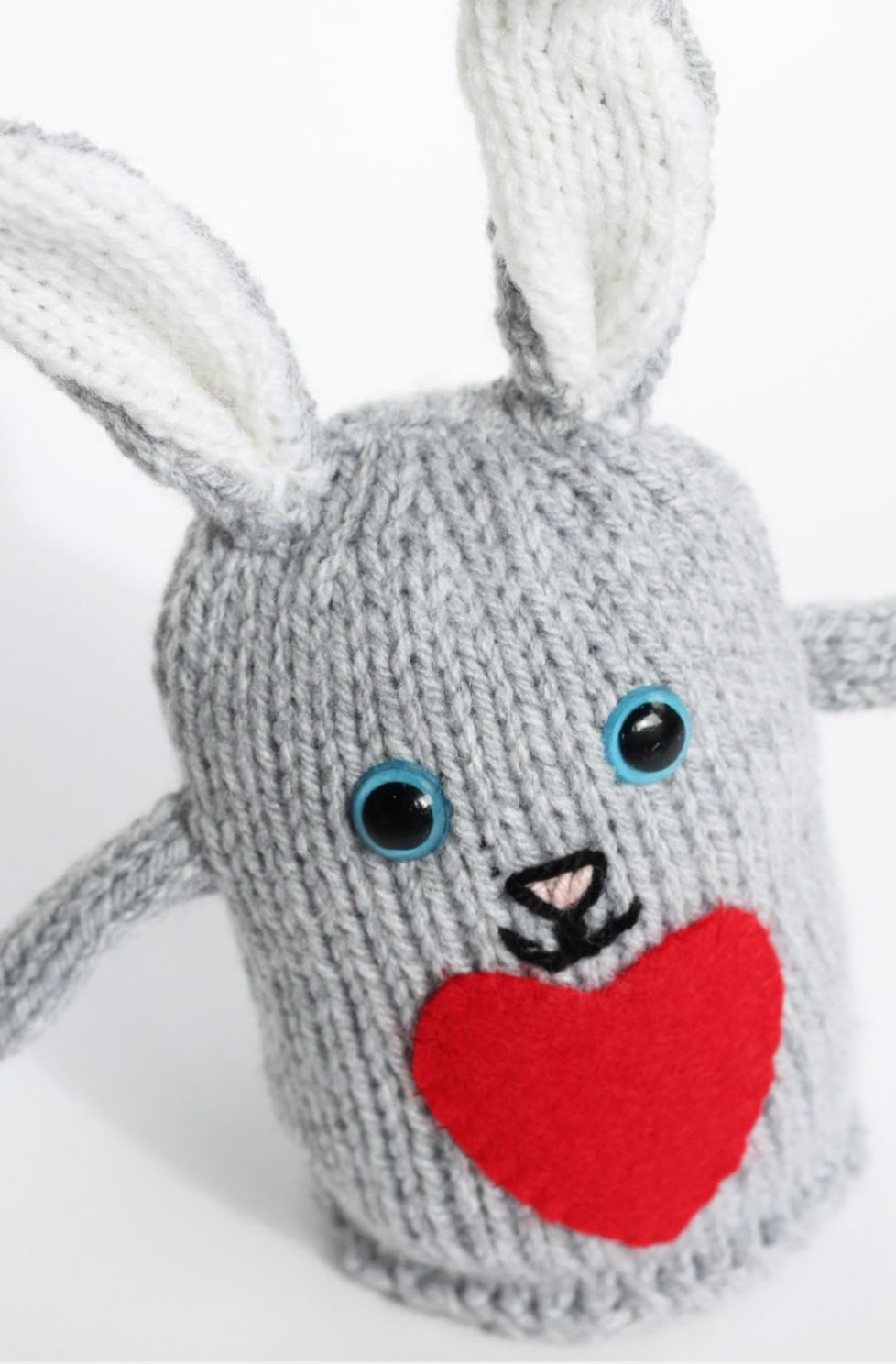 Plush Bunny Toy Pattern | Free Knitting Patterns | Handy ...