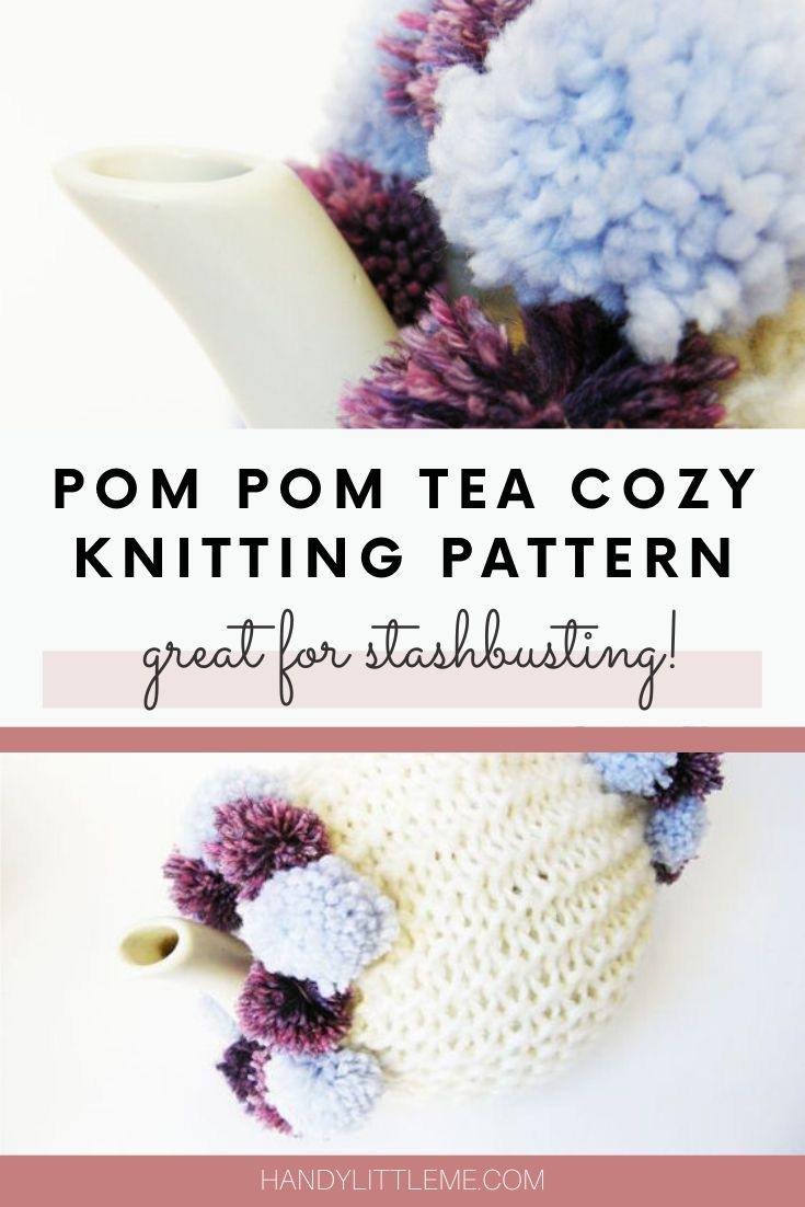 Pom Pom Tea Cosy Pattern