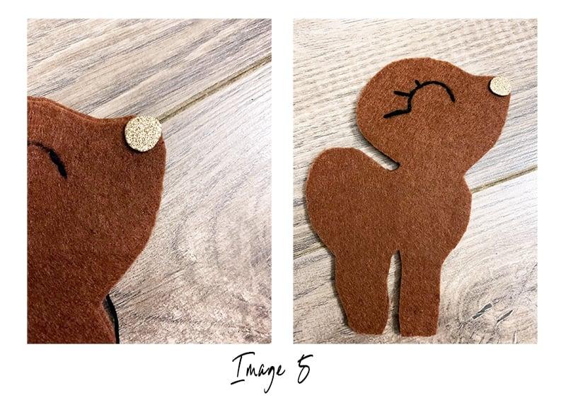 Reindeer craft step 3