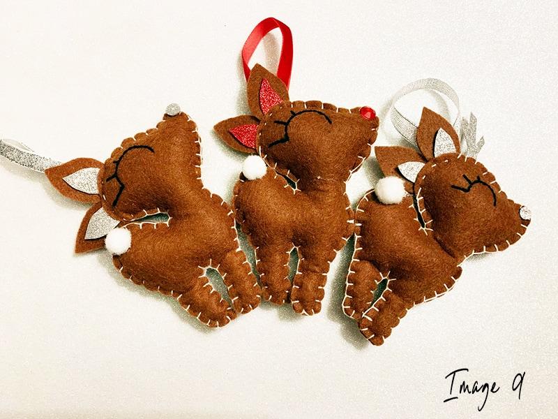 Reindeer craft step 6