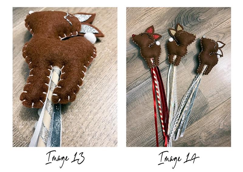 Reindeer craft step 9