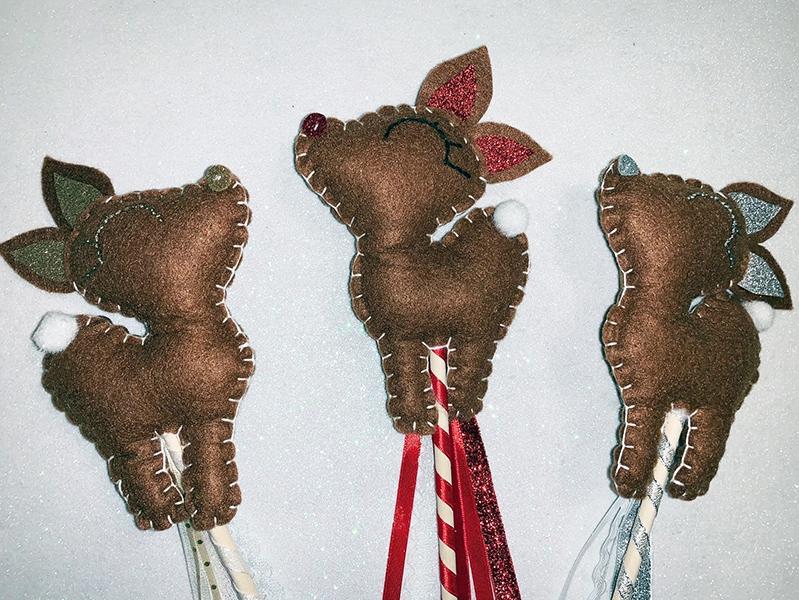 Reindeer wand