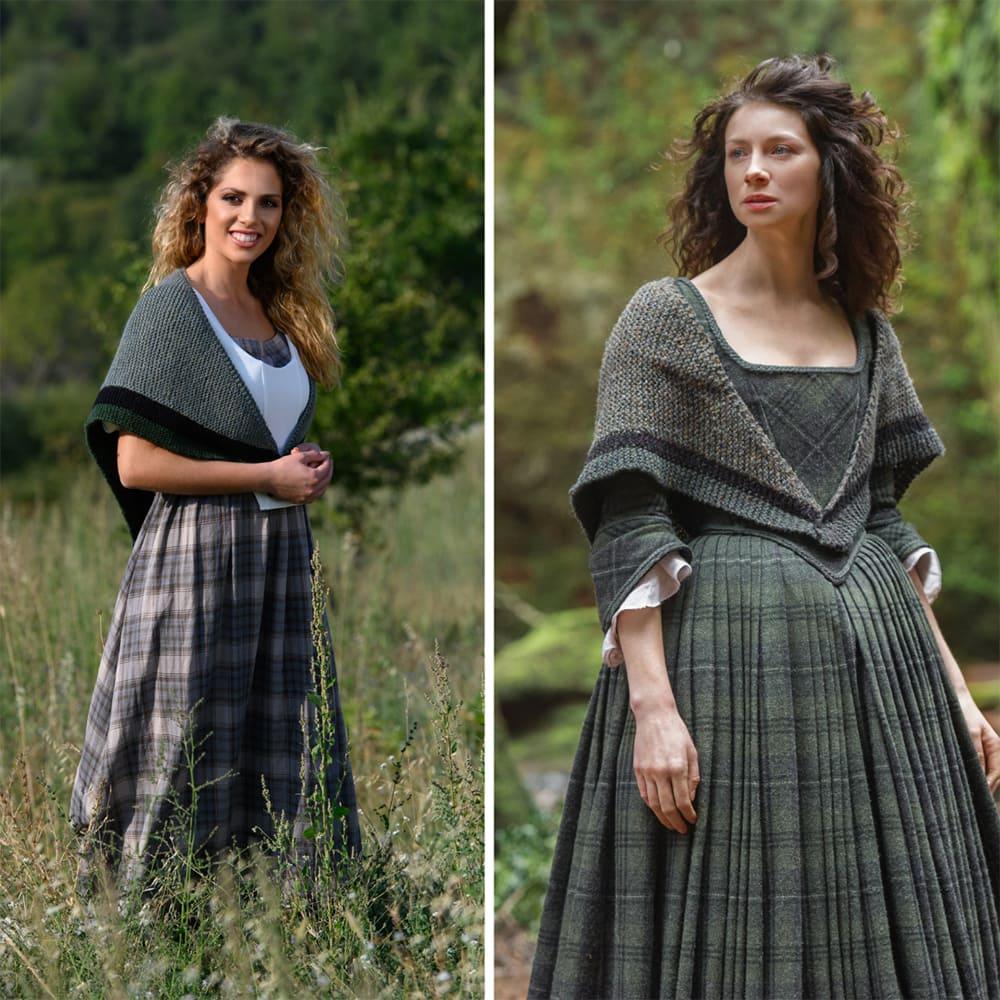 Outlander Rent shawl