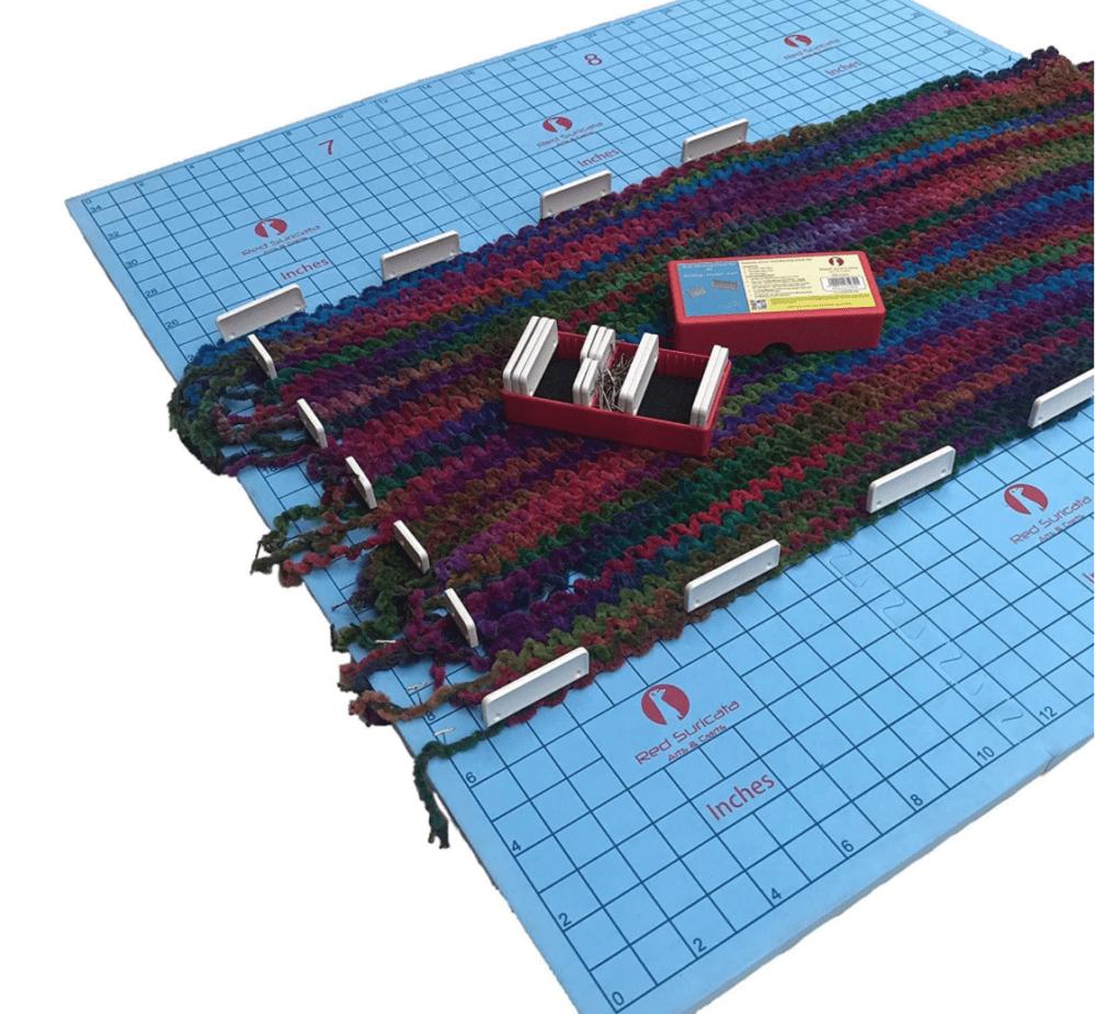 Blocking mats for knitting