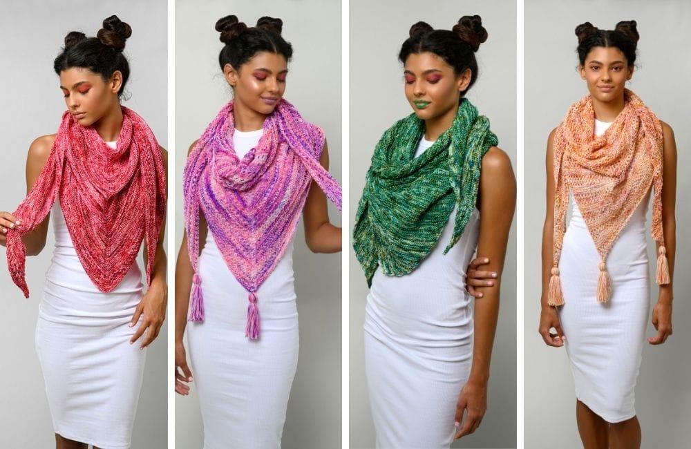 Shawl knitting pattern bundle main image