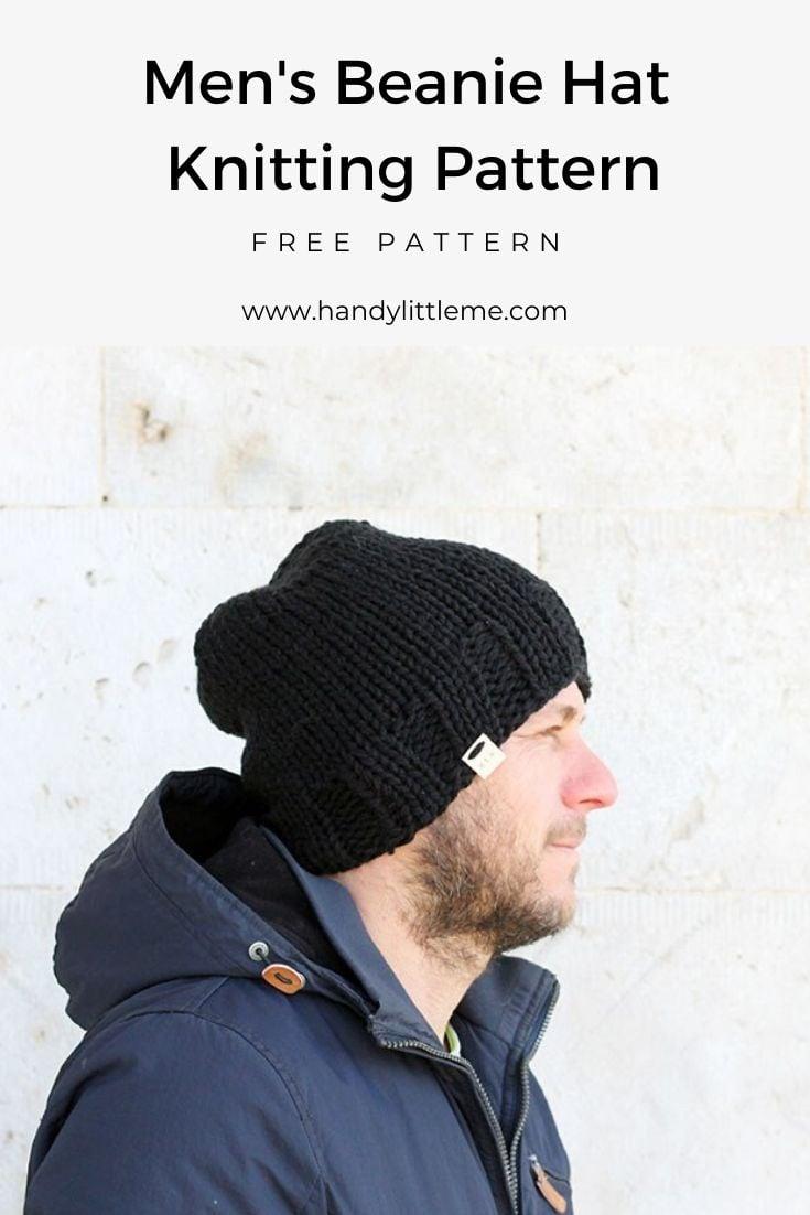 Slouchy Beanie Hat Pattern