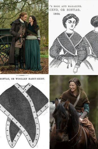 The Sontag Shawl {History and Patterns}
