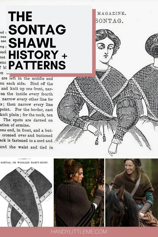 Sontag shawl pin