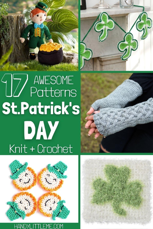 St.Patrick's Day knit and crochet patterns