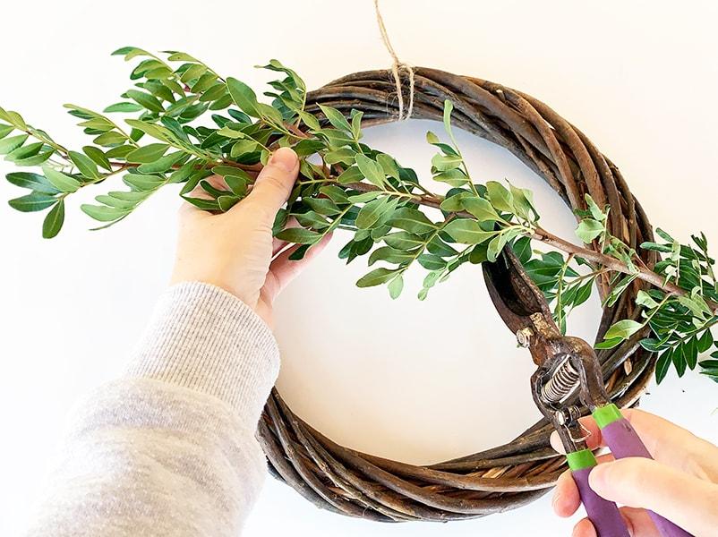 Step 2 wreath