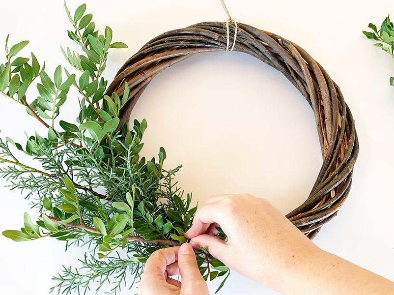 Step 3 wreath