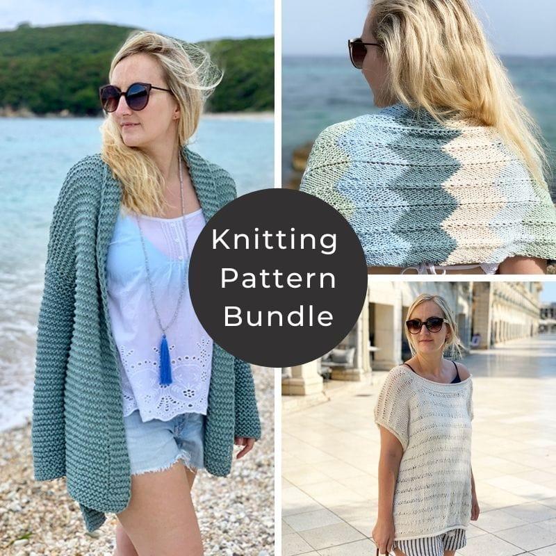 Summer knits pattern bundle