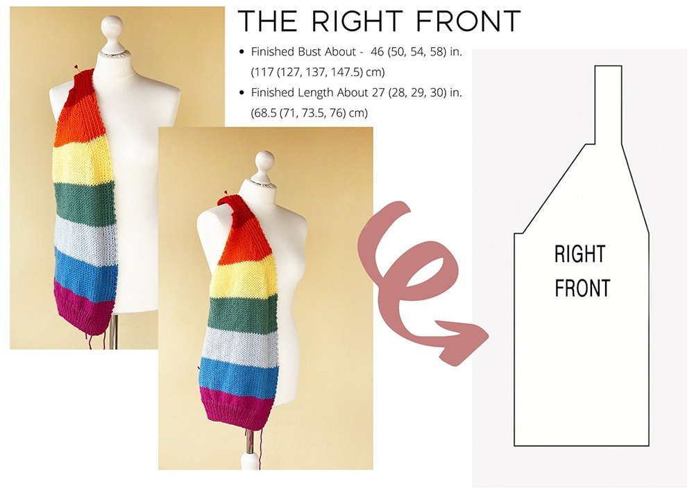 The right front