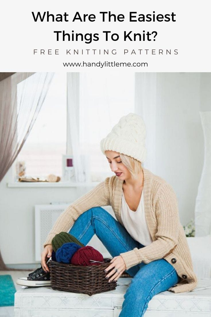 What are the easiest things to knit