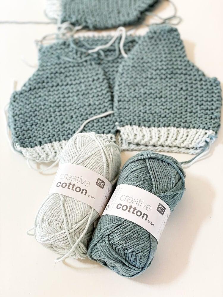 baby cardigan cotton yarn