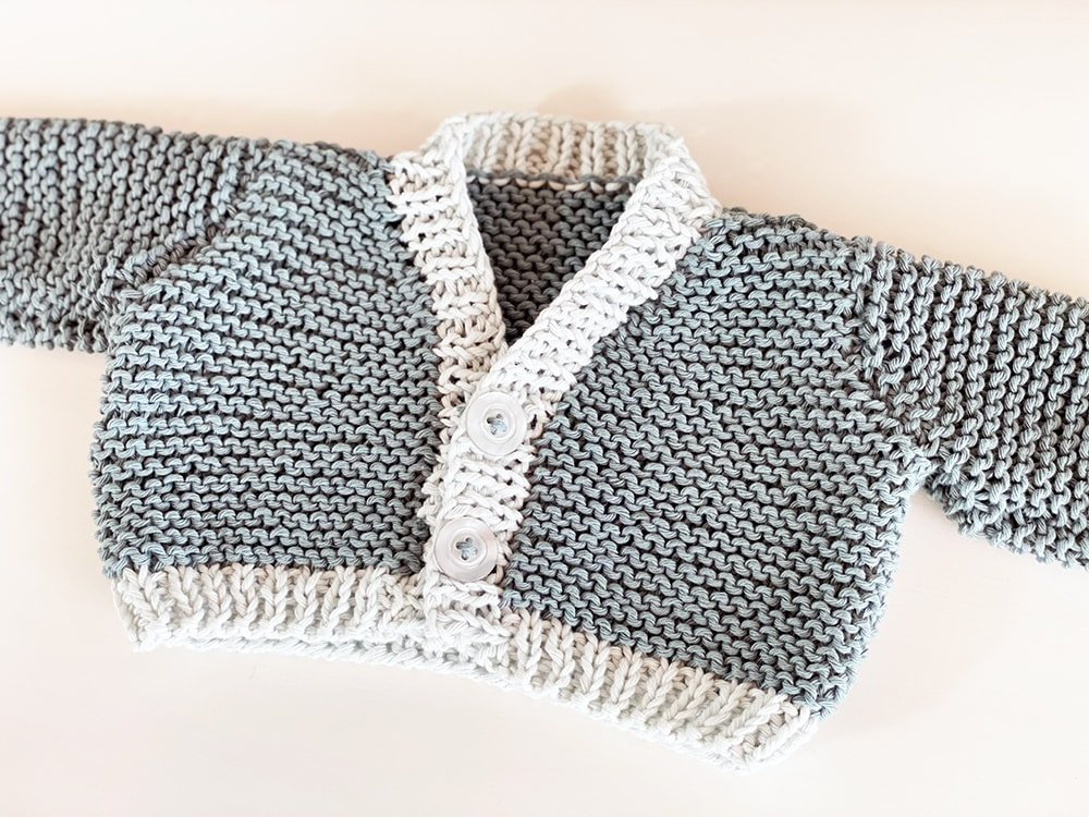 baby cardigan with buttons
