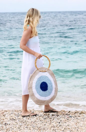 Large Beach Bag Crochet Pattern