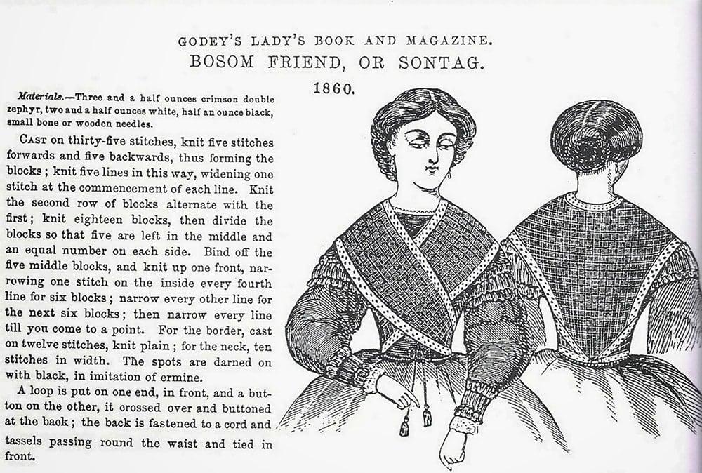 bosom friend sontag shawl