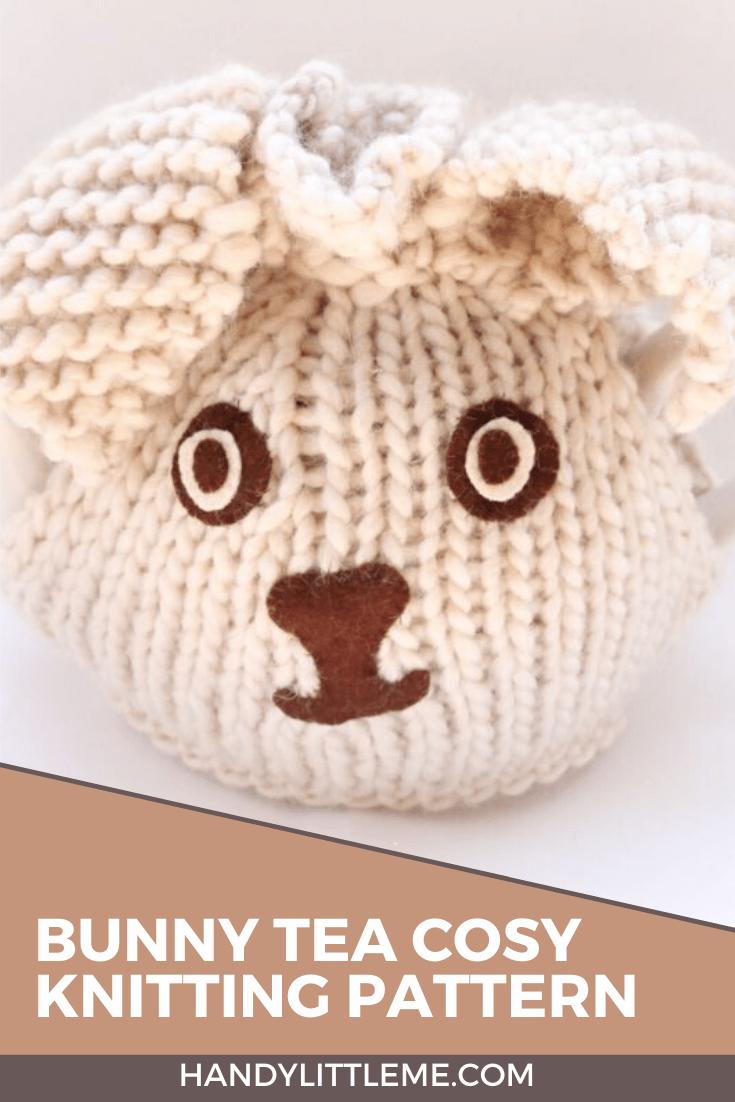 bunny tea cosy pattern