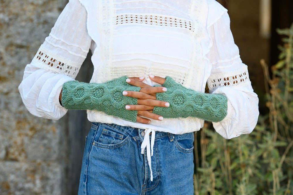 River-Run-Fingerless-Mitts-Knitting-Pattern