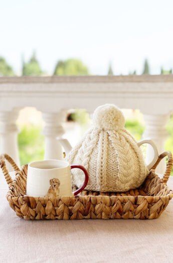 Teapot Cozy Knitting Pattern {Cable Knit}