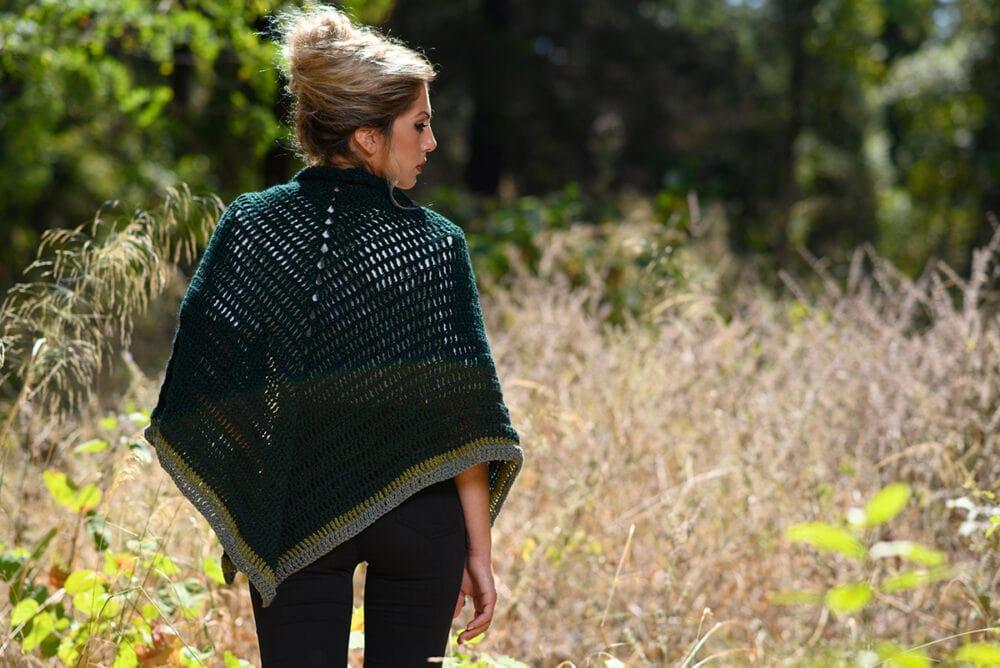 crochet Claire Outlander shawl