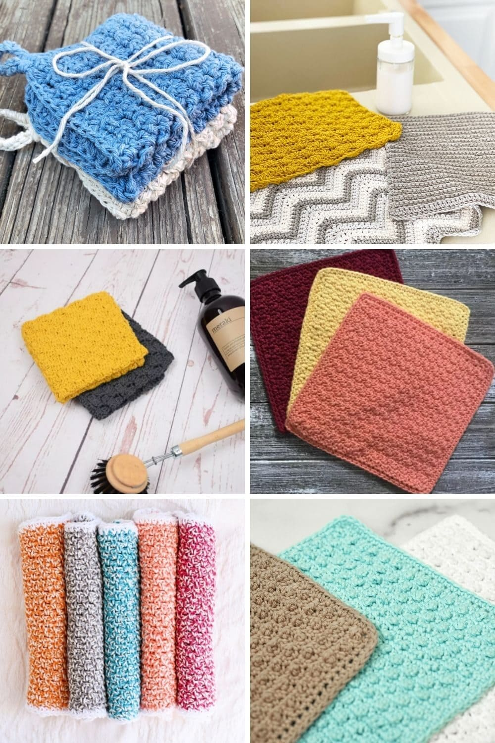 crochet dishcloth patterns featured image